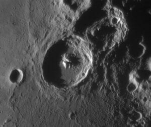 The Moon's surface